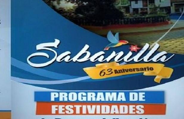 INVITACIÓN A FIESTAS DE PARROQUIALIZACIÓN DE SABANILLA.